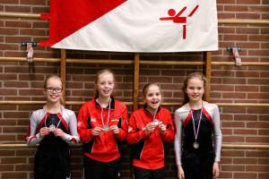 SV Harfsen medaille winnaars wedstrijd 2