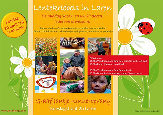 Lentekriebels-Graaf-Jantje-Laren