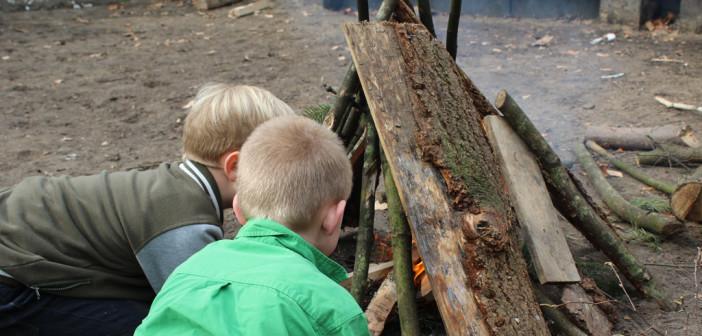 Bushcraften bij Scouting IJsselgroep!